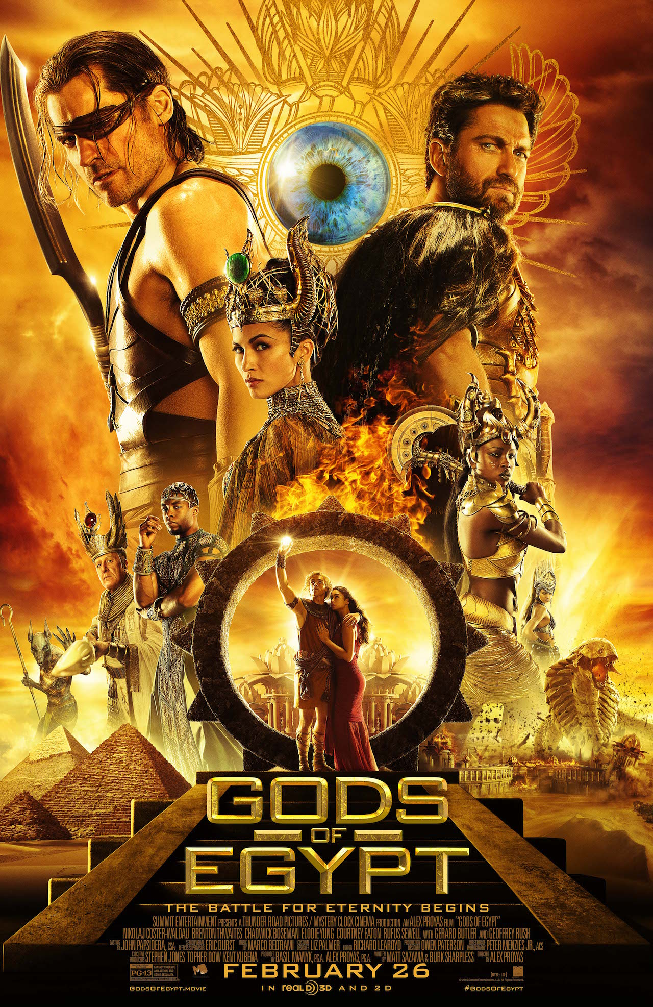 "Gods of Egypt – ""War"" Super Bowl spot"