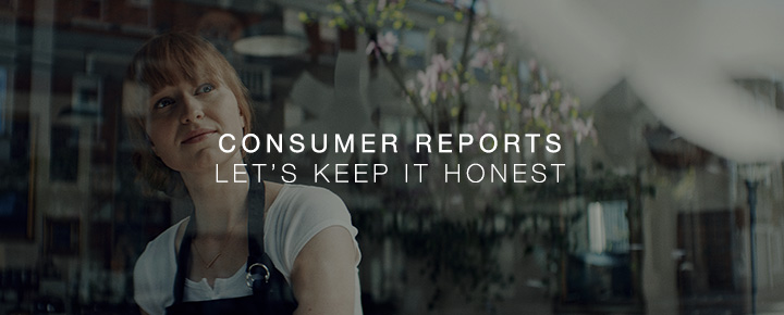 Consumer Reports – Let's Keep It Honest